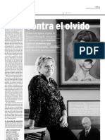 Entrevista a Diana Garrigosa Mujer de Pasqual Maragall