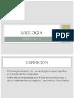 Miologia generalidades
