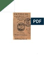 Anónimo - La Vida De Lazarillo De Tormes y De Sus Fortunas y Adversidades
