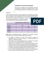 Modelos Financieros de Multiples Periodos