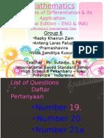 Mathematics - Group 6 - Rezky, Anteng, Pramashavira Wida
