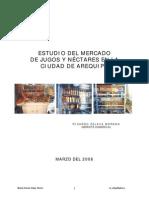 Estudio Mercado Jugos Arequipa