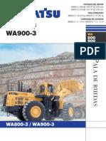WA800-3 Y WA900-3
