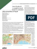 Considerazioni su prove di carico di  tiranti di ancoraggio eseguiti in terreni  sciolti sotto falda durante la costruzione  della metropolitana di Napoli