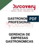 Syllabus y Separata Gerencia de Empresas Gastronomicas 2012