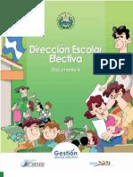 4 Dirección escolar efectiva