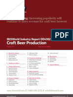Craft Beer Industry Report