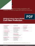 Craft Beer Industry Report