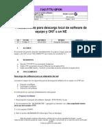 DOC-And-BBA-11-004_Procedimiento Para Descarga de Software Local a Un NE