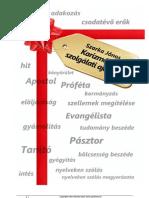 Karizmák és szolgálati ajándékok 3.