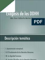 Presentac Exegesis Dh Sidarta