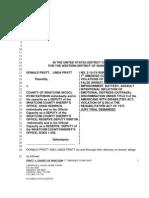 Pratt Civil Complaint
