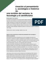 Una aproximación al pensamiento etnológico, sociológico e histórico duvalierista una revisión del racismo, la leucología y el cientificismo