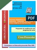 Propuesta de modificación  de la AR I (2008)