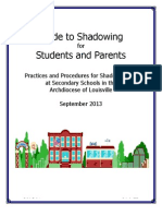 guide to shadowing  13