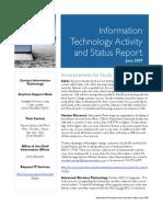 June 2009 Status Report