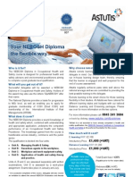 NEBOSH E and D Learning Flyer