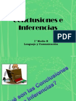Conclusiones e Inferencias