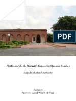 Documentation for K.a. Nizami Centre for Islamic Stiduies at AMU