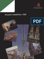 Pemex Anuario Estadistico 1990