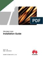 RRU3805 Installation Guide(V200_05)