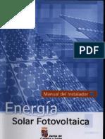 Energia Solar Fotovol Instalador