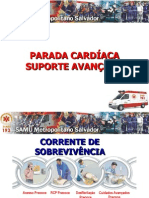 Parada Cardíaca - Suporte Avançado NOVA