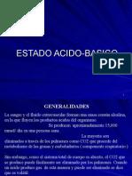 ESTADO ACIDO-BASICO - GENERALIDADES