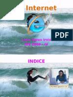 El Internet(Power Point ) Irvis Leon Varas