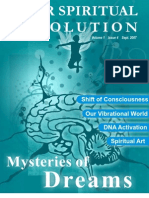 Mysteries of Dreams - Your Spiritual Revolution - Issue Sept-07