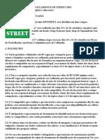 regulamento dfstreet 2013