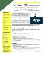 IMS Newsletter Issue 1 - 2013-14