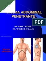 Norma - Trauma Abdominal Penetrante - Dr Berrio