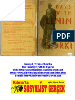 1932_Days With Lenin_Maxim Gorki