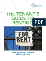 The Tenant's Guide To Renting