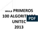Mis Primeros 100 Algoritmos v5.0