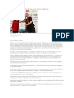 23-08-2013 La Prensa - Suscribe RMV el Acuerdo de Coordinación para la Atención de Albergues