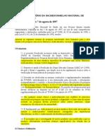 Resolução CNS 251-1997