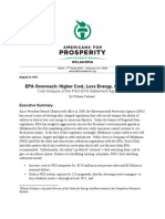 William Yeatman - EPA Overreach