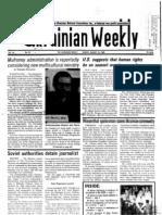 The Ukrainian Weekly 1985-33