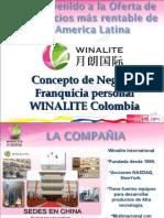 Winalite Colombia,Presentación del Negocio