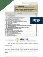 eBook Vigilancia Sanitaria Saude Publica e Leg Especifica p Anvisa Tecnico Em Regulacao Aula 00 Aula 00 24134