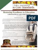 Common Core Policy Brief