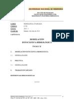 10 UNI-FIA-MIH Clase 10 Hidrología Estocástica 6 jul 2013