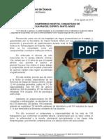 25/08/13 Germán Tenorio Vasconcelos REFRENDA COMPROMISO HBC de Tamazulapam, Mixes