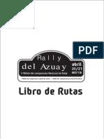 Libro de Ruta Azuay 2013 3