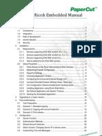 PaperCut MF - Ricoh Embedded Manual