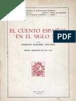 5 El Cuento Espanol en El Siglo Xix