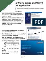 Manual Wintv v7