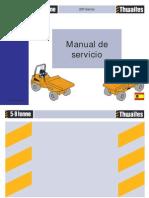 Manual de taller Thwaites serie 200 de 5 a 9 toneladas (español)